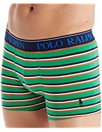 Mens Ralph Lauren Green Camo Stretch Jersey Boxer Shorts Small