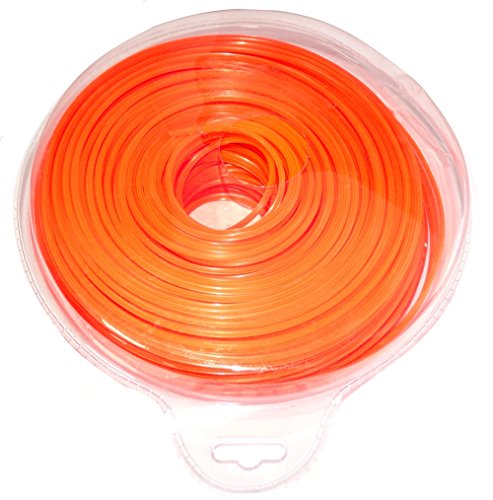 Aerzetix: Fil nylon profil étoile 2.4mm 103m pour débroussailleuse désherbeuse C18617