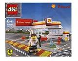 40195 Lego Shell V-Power Ferrari Exclusive Sealed by LEGO stazione di servizio Shell polybag