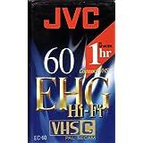 JVC Cassette VHS-C 60 minutes serie EHG