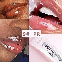 Professionnel Cerise Brillant Vitamine E Huile Minérale Hydratante Repulpante Effacer Brillant À Lèvres Volume Teinté Mat Liquide Rouge À Lèvres Maquillage
