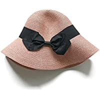 99c41463509 Jmung Anti-UV Protection Fisherman Sun Crushable Fisherman Hat Bowknot Beach  Hat Sun Hat Visor