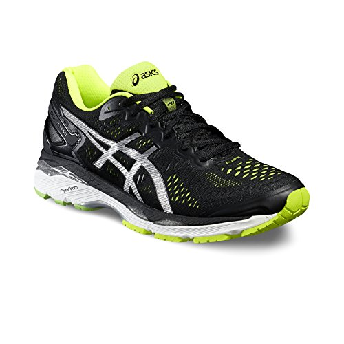ASICS GEL-KAYANO 23 THUNDER BLUE SAFETY YELLOW INDIGO BLUE Black