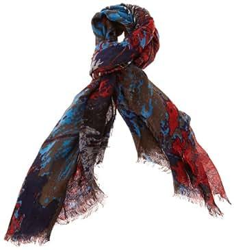 ESPRIT Damen Schal 093EA1Q006, Gr. one size, Blau (406 cinder blue)