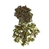 50pcs Crochet en Dents de Scie à Double pour Cadre de Photo Accroché Cintres avec Trou avec Vis