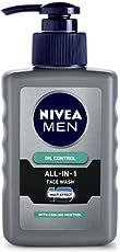 Nivea Men All-In-1 Pump Facewash, 150g