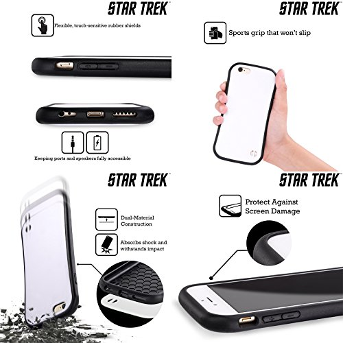 Ufficiale Star Trek Gabriel Lorca Scoperta Di Poster Personaggi Case Ibrida per Apple iPhone 7 Plus / 8 Plus LRell