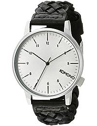 Komono Men's Analogue Quartz Watch with Polyurethane Strap – KOM-W2032
