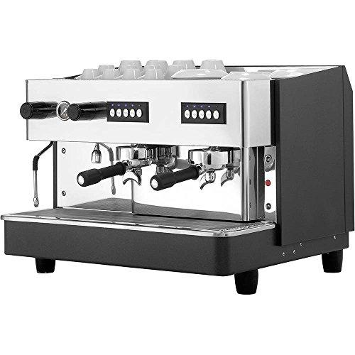 Zweigruppige Siebträgermaschine Kaffeemaschine 650 x 530 x 430 mm 11,5 Liter 2,5 kW 230 V Boiler...