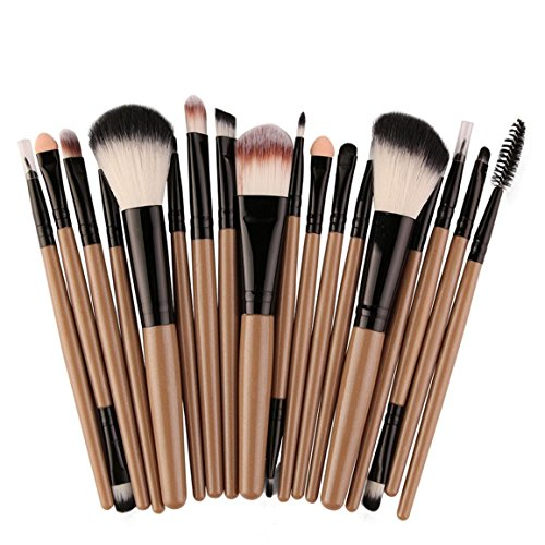 Neue Make-up Pinsel Set, Moonuy 18 Stück Make-up Toilettenartikel Wolle Make Up Pinsel Set