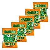 Haribo Quaxi Fröschli Frösche, 5er Pack, Gummibärchen, Weingummi, Fruchtgummi, Im Beutel, Tüte