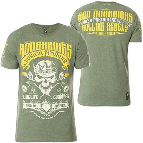 Yakuza Premium T-Shirt YPS-2304 Grün Grün
