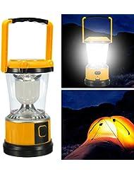 Moppi Camping en plein air remontant la lanterne claire usb de lampe LED solaire lumière rechargeable