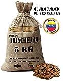 Kakaobohnen, ungeröstet - Venezuela Kakao Herkunft Trincheras   Cacao Venezuela Delta - Edelkakao 100% aus Venezuela - Premium-Qualität   Jutesäcken 5kg