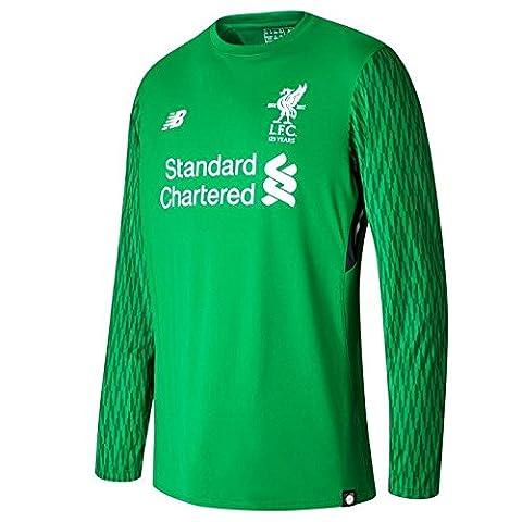Liverpool FC 17/18 Goalkeeper Home L/S Football Shirt - size M