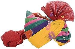 Jodhpuri Fashions Mens Cotton Turban (Multi Color, 9 Meters)