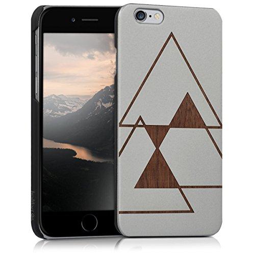 kalibri-Schutzhlle-aus-Holz-mit-Laser-Gravur-fr-Apple-iPhone-6-6S-Premium-Case-Cover-mit-Kunststoff-im-Triangle-Design