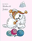 Notizbuch: Stricken und Häkeln Buch, Notizheft für Handarbeiten, Strickpapier, Häkelpapier