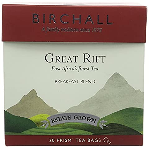 Birchall Great Rift 20 Prism Tea Bags (Pack of 3)