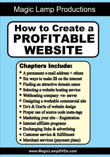 How to Create a Profitable Website by Gene Grossman
