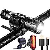 Best Flashlight 1000 Lumens - IPX7 Waterproof Bike Light Set-1000 Lumen Mini Bicycle Review