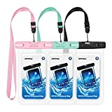 Best Iphone 6 Underwater Cases - Mpow Waterproof Case 3 Packs, IPX8 Underwater Dry Review