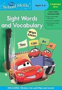 Disney Pixar Cars: School Skills - Sight Words and Vocabulary