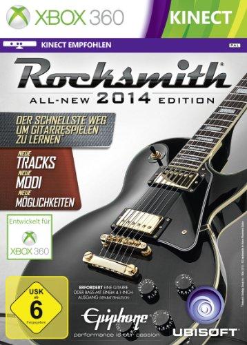 Rocksmith 2014 (mit Kabel) - [Xbox 360]