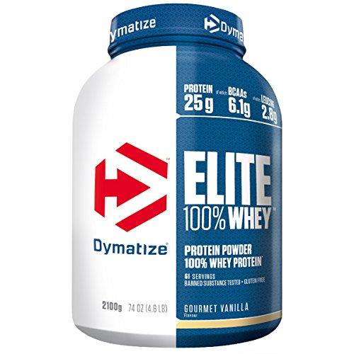 Dymatize Elite 100% Whey Protein – Premium Proteinpulver – Zuckerarmer Eiweiß-Shake – 2,1 kg Gourmet Vanilla - 4