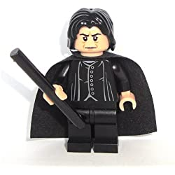 LEGO Harry Potter: Professore Snape Minifigura Con Nero Bacchetta Magica
