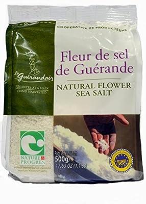 Fleur de Sel de Guérande 500 g from Cooperative de Producteurs de la Guérande