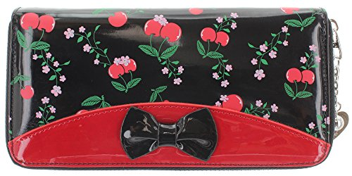 Banned - Cartera para mujer  Mujer multicolor Red/black Talla...