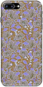 The Racoon Grip printed designer hard back mobile phone case cover for Apple Iphone 7 Plus. (Blue Glowi)