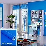 Un papier peint de couleur unie pour salon et chambre à coucher, une couleur fraîche et un matériau sain