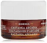 KORRES– Crema de día antiarrugas reafirmante para piel muy seca Castanea Arcadia, 40ml