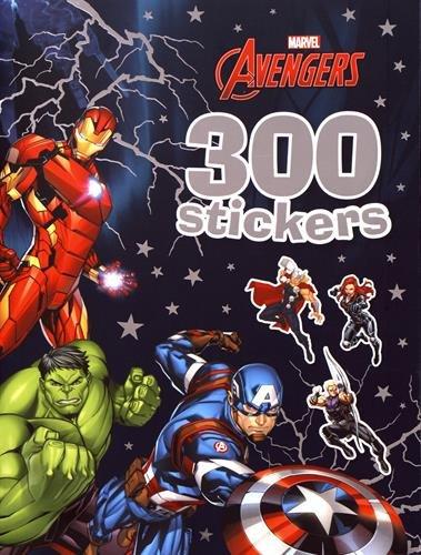 Libro PDF Gratis Marvel - 300 stickers - avengers - Libro PDF