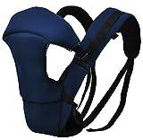 Heruai Double épaule multifonctionnelle absorbant bébé bébé harnais bancs lombaires respirant nouveau-né fils , blue