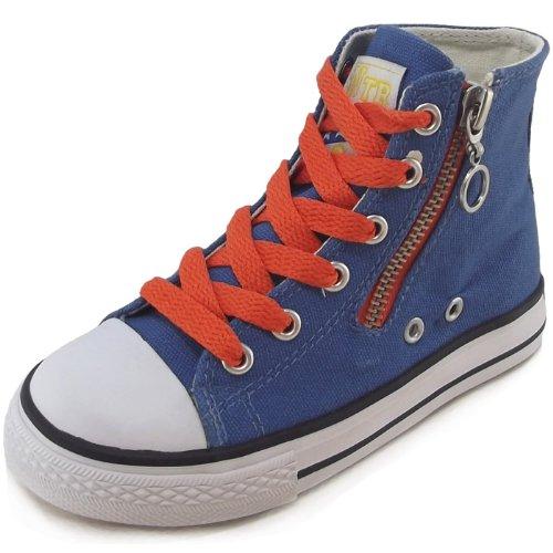 Naturino  NATURINO 2540., baskets fille Bleu - azure blue (azzurro)