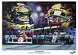 """Lewis Hamilton """"Campioni e Ayrton Senna."""