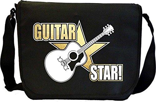 Acoustic-Guitar-Star-Sheet-Music-Document-Bag-Musik-Notentasche-MusicaliTee