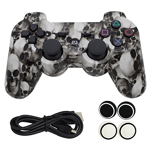 yincol-kabelloser-controller-fur-ps3-mit-usb-ladekabel-daumen-silikon-griff-sechs-achsen-dual-shock-