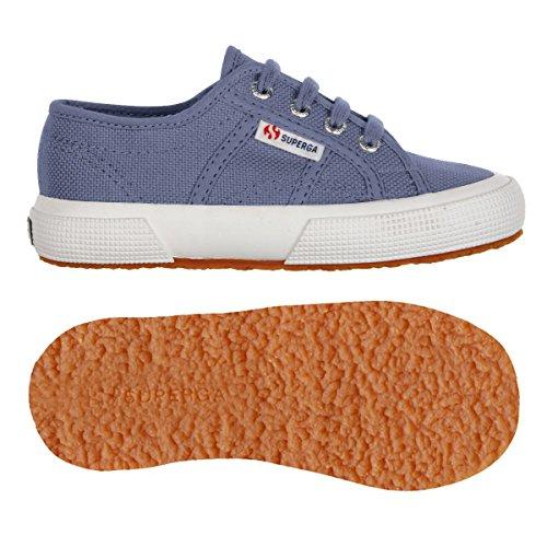 Chaussures Le Superga - 2750-cloud Cotj - Bambini Blue Velvet