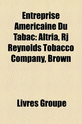 entreprise-amricaine-du-tabac-altria-rj-reynolds-tobacco-company-brown