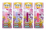 PEZ Spender Set Hello Kitty (4 Spender mit je 3 PEZ Bonbons á 8,5g) + 2 Nachfüllpacks (8 PEZ Bonbons á 8,5g)