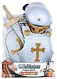 Exklusives 4-teiliges Kostüm Verkleidung für kleine, tapfere Ritter - für Kinder ab ca. 5 Jahren geeignet