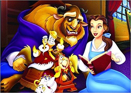 Die schöne und das Biest Prinzessin Disney Party Waffel in Ostia für Kuchen personalisierbar-Kit N ° 4cdc- (1Waffel in Ostia Abmessungen Folio A4210× 297mm) (Und Schöne Das Servietten Die Biest)