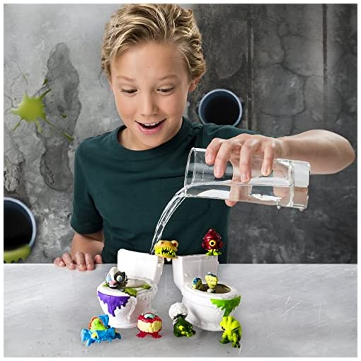 Spin-Master-6037317-Flush-Force-WC-2-Stck-mit-8-flushies-Farblich-sortiert