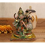 [Sponsored]TiedRibbons Saraswati Mata Idol(19.3 Cm X 15.1 Cm, MultiColor, Brass) | Show Piece For Home | Home Decor Items | Figurines Show Pieces For Living Room | House Warming Decoration