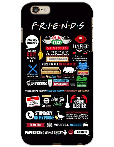 iPhone 6 Plus / 6S Plus Cases & Covers - Friends Poster Case by myPhoneMate - Designer Printed Hard Matte Case - Protects from Scratch and Bumps & Drops.