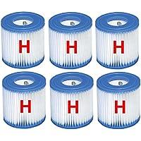 6x Intex cartucho de filtros 29007para Quick Up Piscina filtro tinta filtro de repuesto